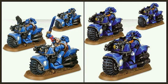 Motos Marines Espaciales Games Workshop