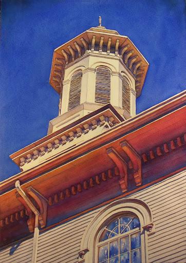 Ipswich church. Artist of the Month: Paul McMahan
