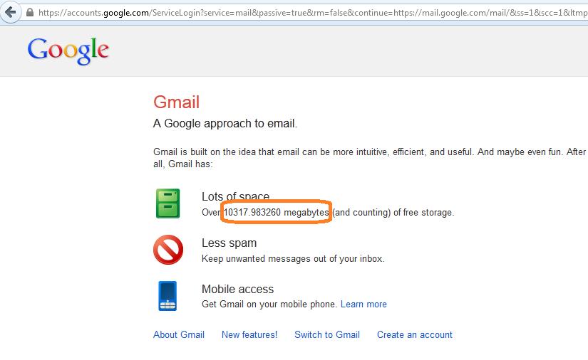 Gửi file dung lượng đến 10 GB chỉ trong nháy mắt với Gmail ...