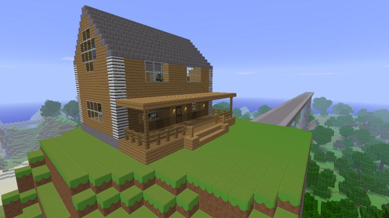 Minecraft Ideas Cabin Hussar