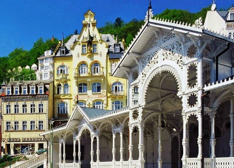 Karlove vari (Karlovy vary) - jedinstveni dragulj Češke