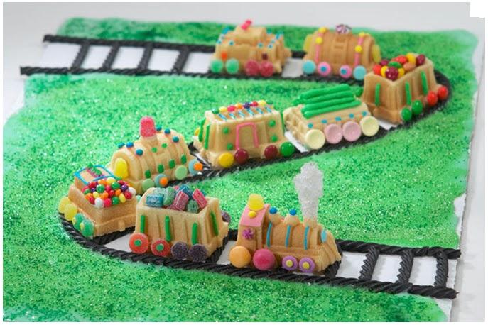 Super Moule à gateau : un petit train appétissant ⋆ Happy Housewife NT28