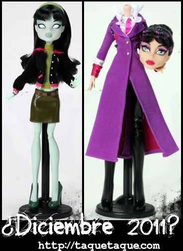 Monster High - Nuevas muñecas: Scarah Screams y la Directora Sra. Sangrientez
