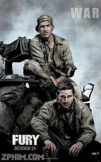 Cuồng Nộ - Fury (2014) Poster