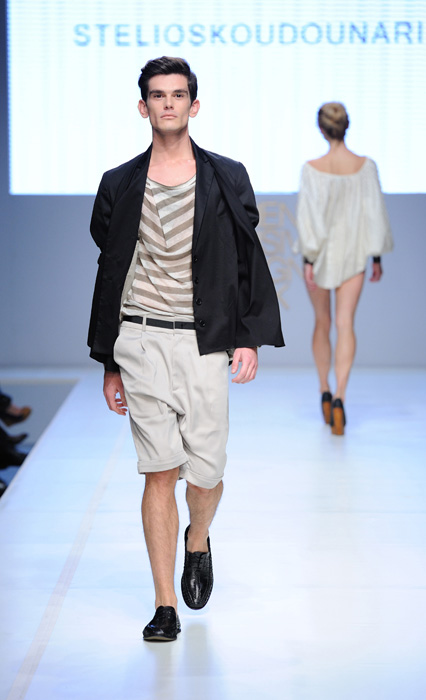 Stelios Koudounaris Always Rockin' Greece [men's fashion]