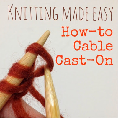 Knitting How To Cable Cast On