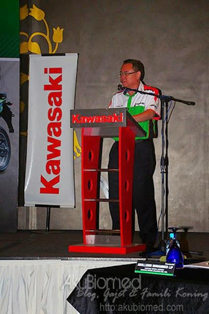 Kata aluan oleh En.Jeffrey Lim GM Kawasaki Malaysia