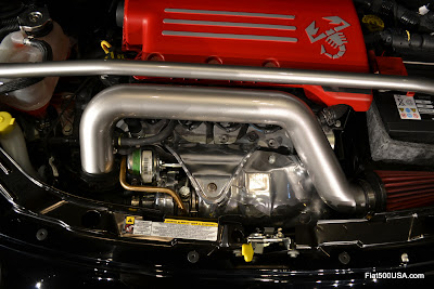 US Fiat 500 Abarth Turbocharger