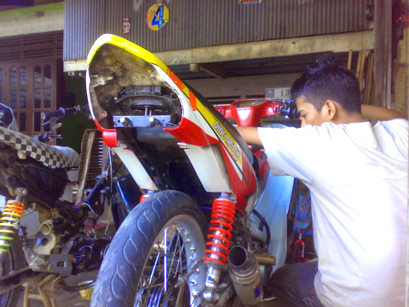 Yamaha Fino Modifikasi Road Race