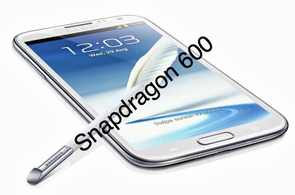 Samsung Galaxy Note 2 to be Revamped with Snapdragon 600 for China