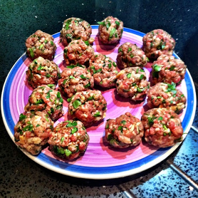52 Cookbooks #24: Leon Moroccan meatballs