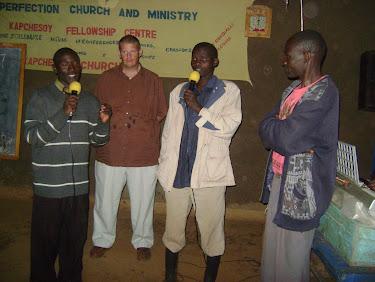 Ugandan man coming to faith in Christ