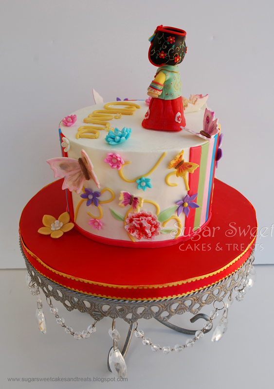 Korean Hanbok Dol Cake Sugar Sweet Cakes And Treats