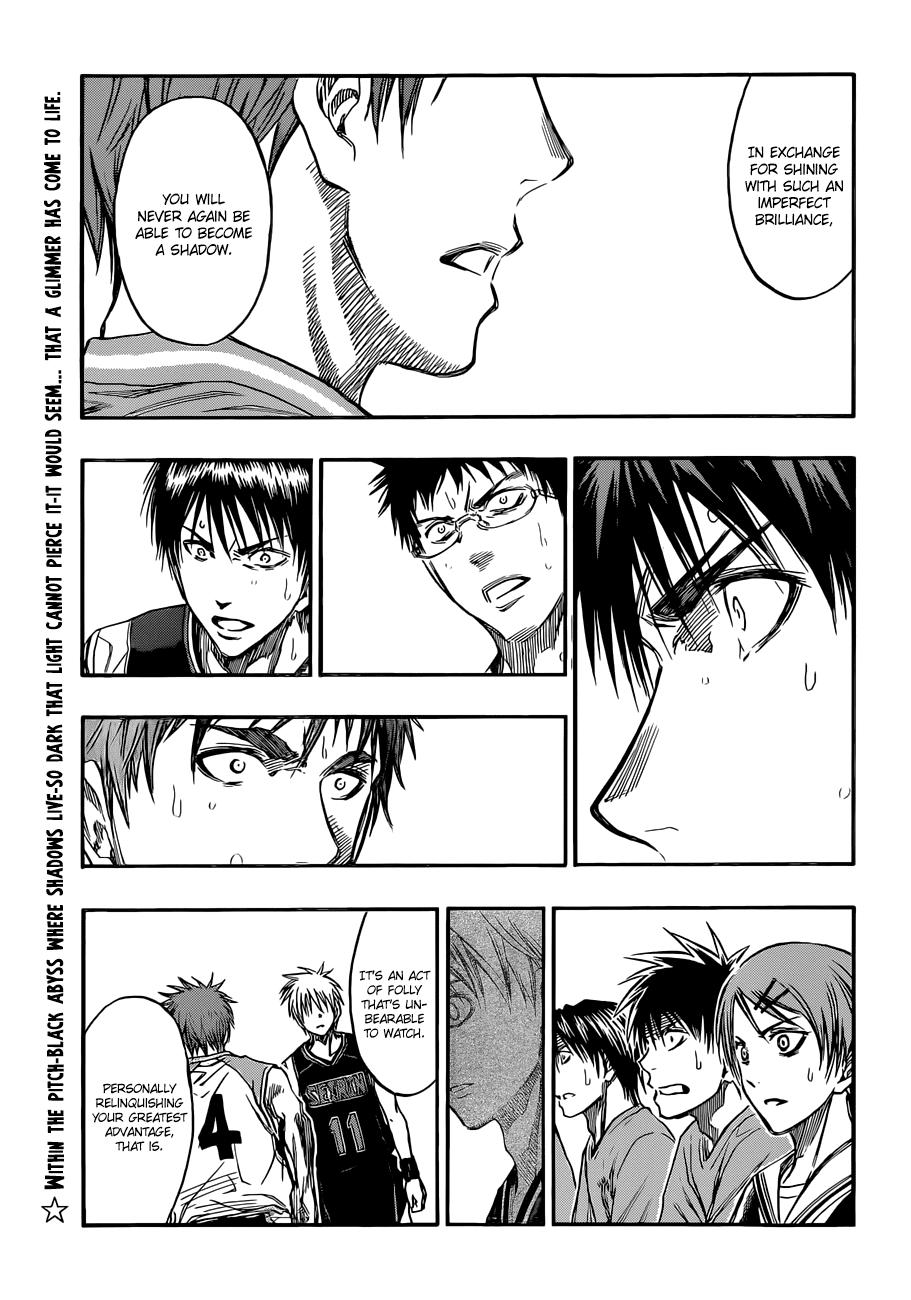 Kuroko no Basket Manga Chapter 237 - Image 01