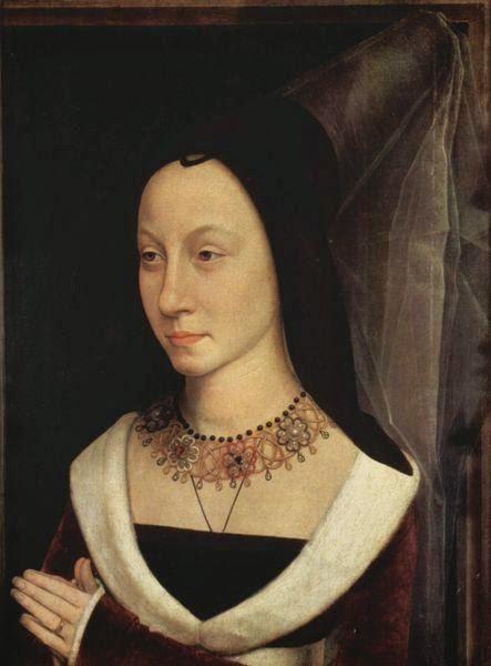 Hans Memling - Porträt der Maria Maddalena Portinari