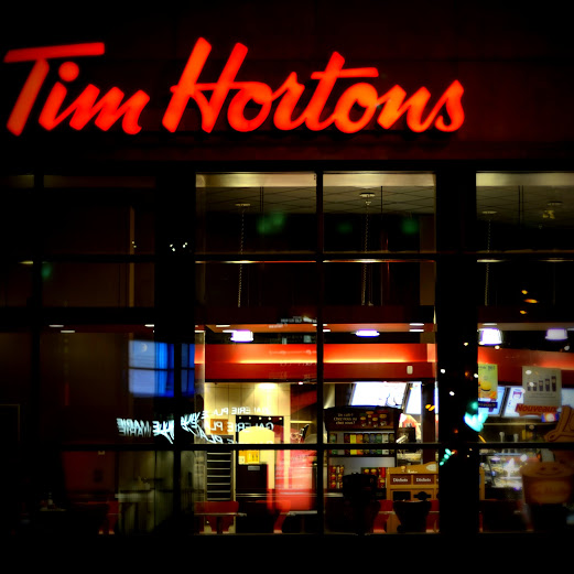 Tim Hortons. photo/ps