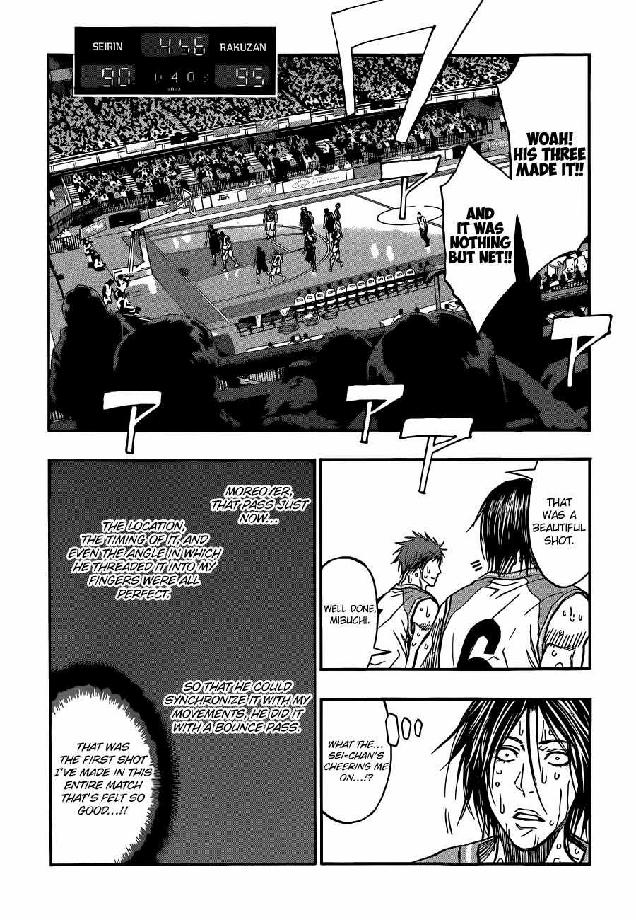 Kuroko no Basket Manga Chapter 267 - Image 10