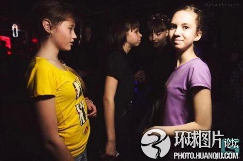 俄羅斯兒童夜店,張大你的嘴,震驚吧!