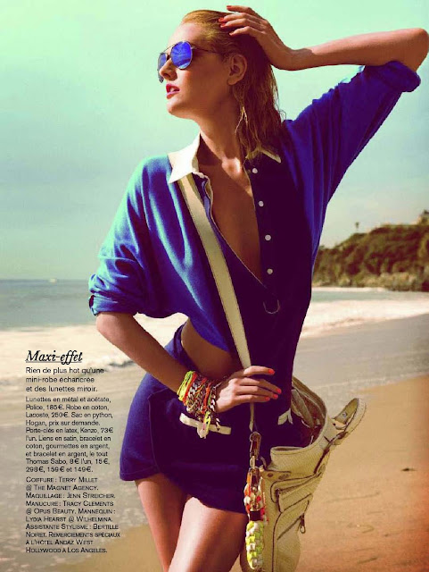 Lydia Hearst  Glamour France -March 2012