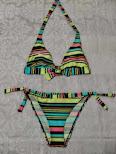 BIKINI DE RAYAS Alegre bikini de rayas
