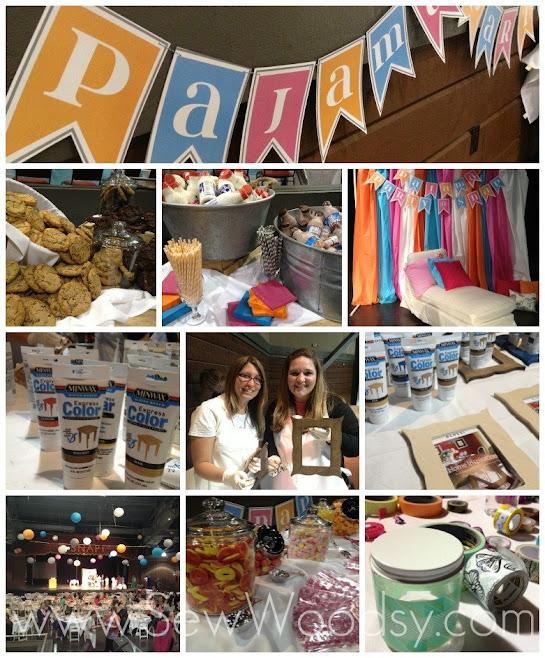 SNAP! 2013 Recap PJ Craft Party via SewWoodsy.com