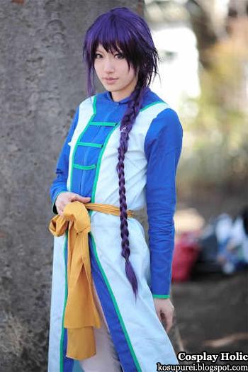 fushigi yuugi cosplay - nuriko