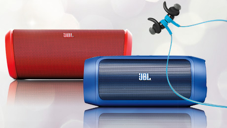 Tech Gifts for the Holidays: JBL Speakers and Earbud Headphones #HintingSeason