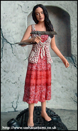 Firefly - Branch-Toting River Tam action figure