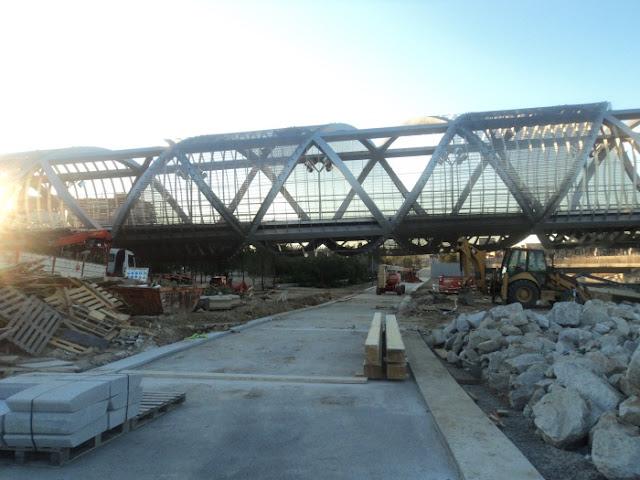 El Puente de la Arganzuela. Fotos marzo 2011