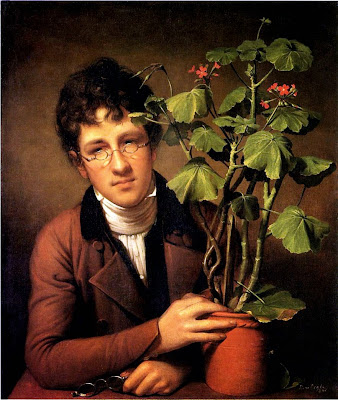 Rembrandt Peale - Rubens Peale with a Geranium, 1801