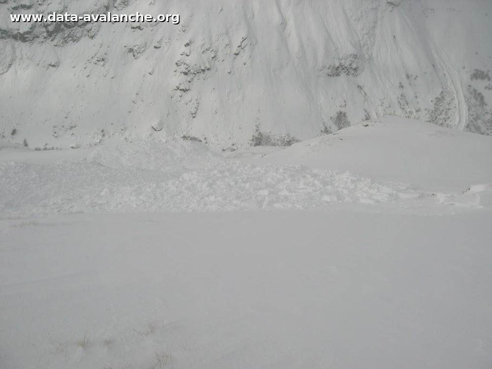 Avalanche Haute Maurienne, secteur Pointe d'Andagne, Les Laurs - Photo 1