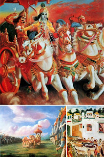 иллюстрации к Бхагавад Гите