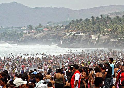 Vacaciones de agosto 2015 El Salvador