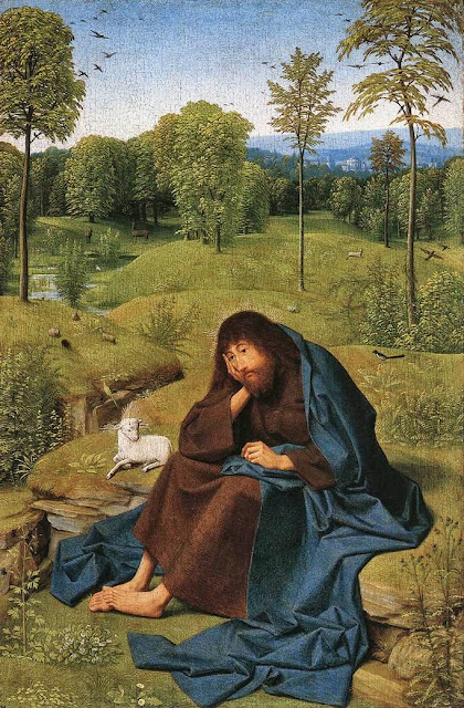 Geertgen tot Sint Jans - John the Baptist in the Wilderness