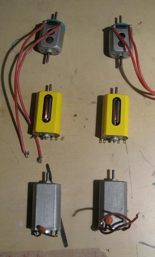 Misurazione del campo magnetico dei motori  E
