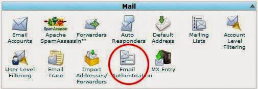 mengaktifkan fitur DKIM (DomainKeys Identified Mail) dan SPF (Sender Policy Framework)