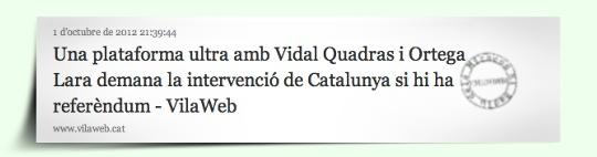 Notícia Vilaweb