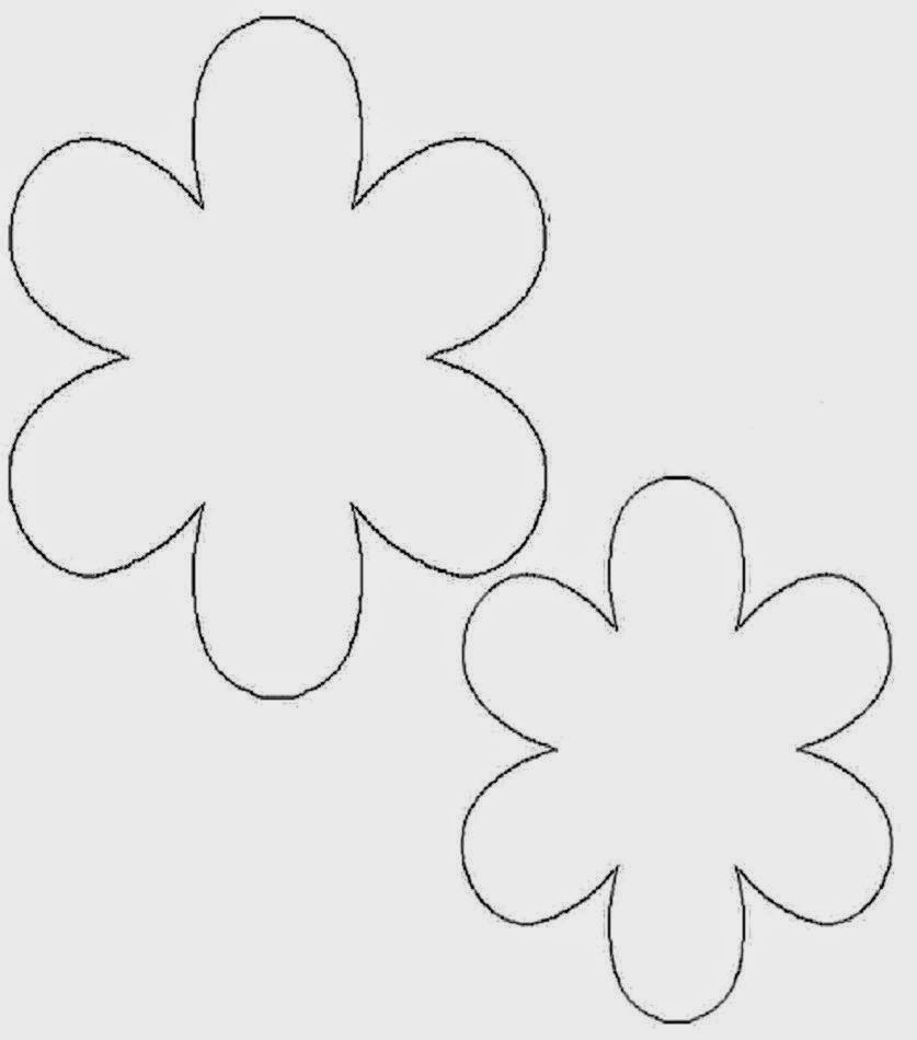 Flower template download best free hd wallpaper for Flower template 5 petals