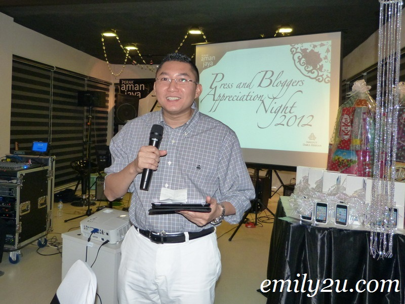 Institut Darul Ridzuan Press and Bloggers Appreciation Night 2012