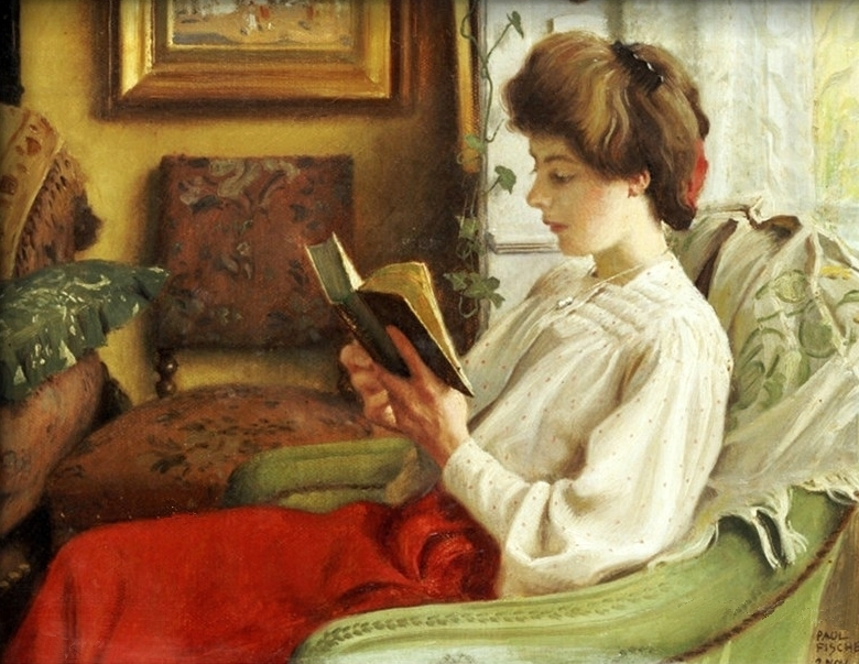 Paul Gustave Fischer - A good book
