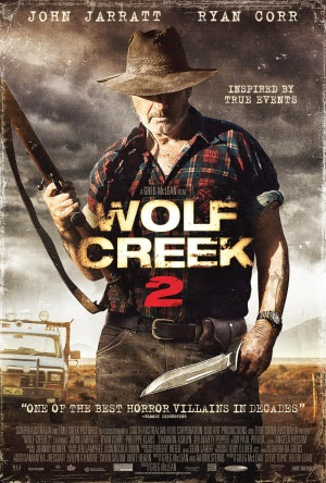 Filme Poster Wolf Creek 2 HDRip XviD & RMVB Legendado