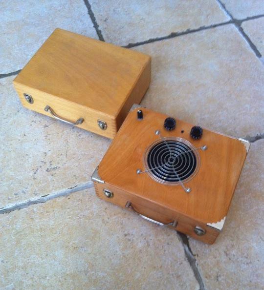 Un ampli en fabrication Ampli14