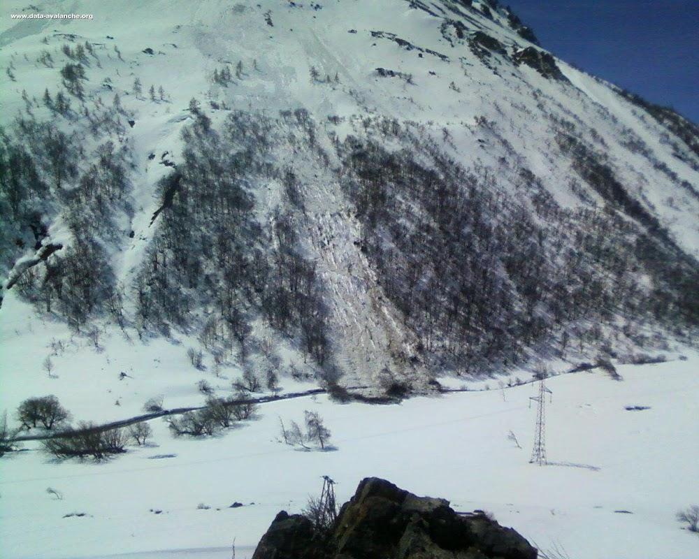 Avalanche Oisans, secteur Col du Lautaret, La Madeleine - Monêtier-Les-Bains - Photo 1