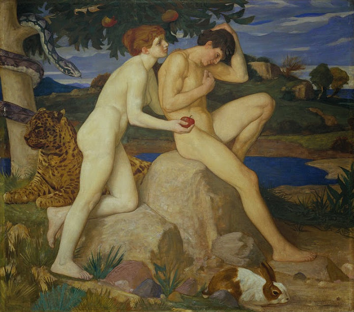 William Strang - The Temptation - Google Art Project