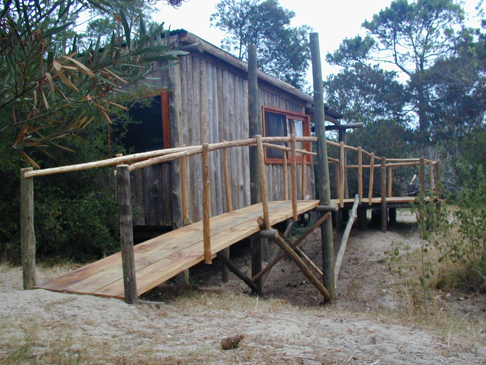 Construcciones en madera caba a de costanero canteado - Cabanas de madera pequenas ...