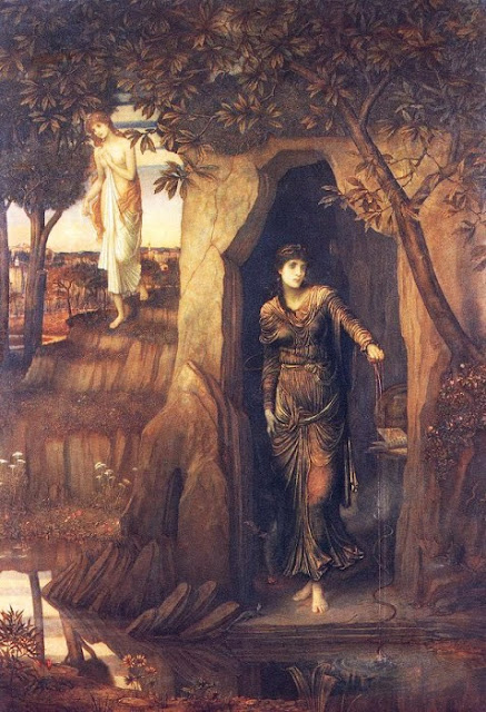 John Melhuish Strudwick - Circe and Scylla