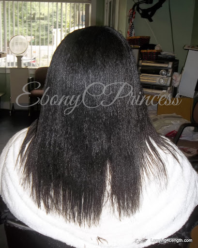 EbonyCPrincess Hair July 2012