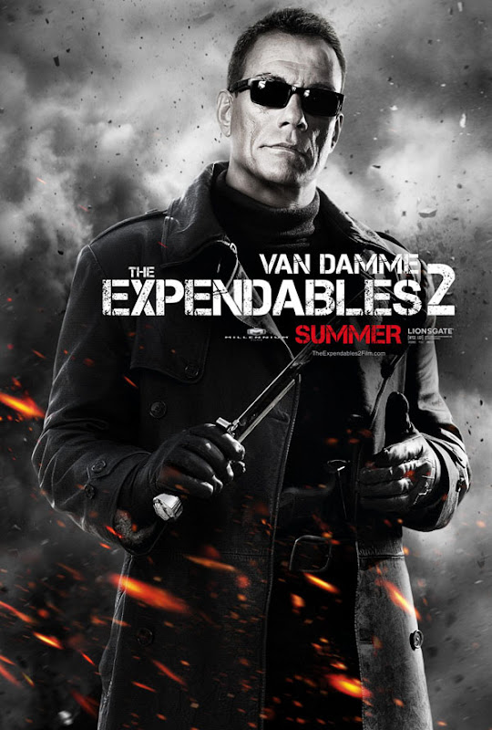 expendables two ver4 xlg The Expendables 2   Galeria de Posters e Trailer.