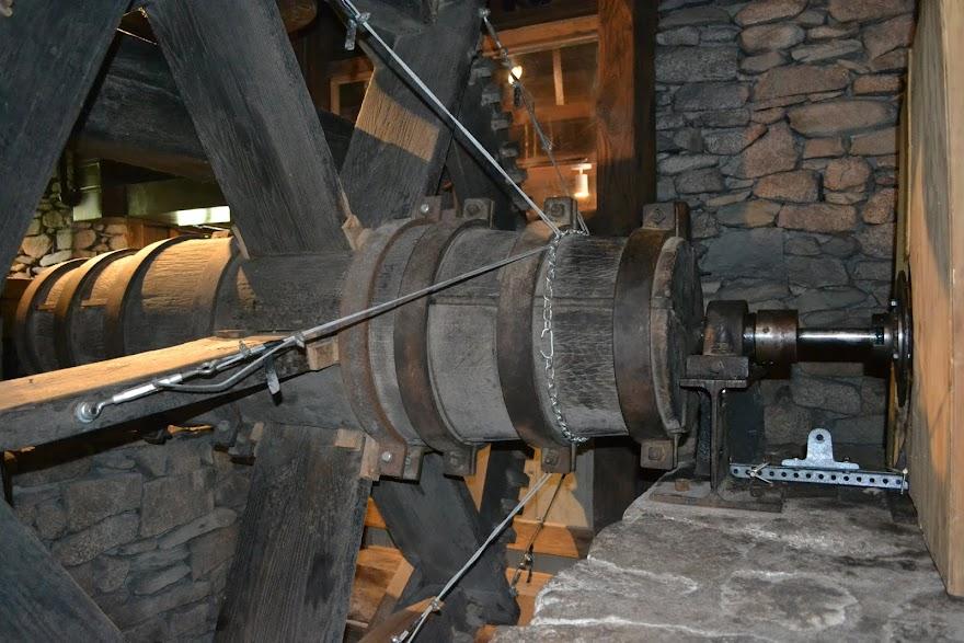 Мельница в Плимуте, Массачусетс (The Plimoth Grist Mill, Plymouth, MA)