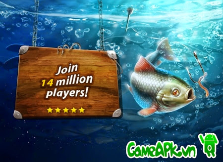 Gone Fishing: Trophy Catch v1.5.3 hack full tiền cho Android